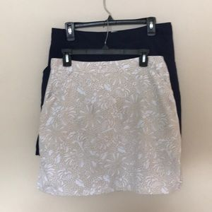 2 Coral Bay golf skirts